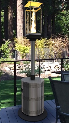 TEMPEST TORCH Outdoor Lighting